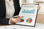 Business financial data analysis