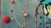 Rope with Climbing eight knot
