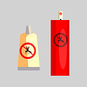 Insect repellents. Tube, spray, aerosol