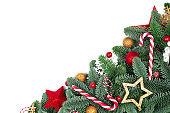 Christmas tree and decor