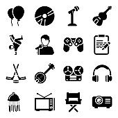 Entertainment Accessories in Modern solid Style Pack