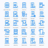 Mobile Apps flat Icons Pack