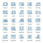 Pack Of Web Flat Icons