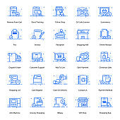 Pack Of Ecommerce Flat Icons