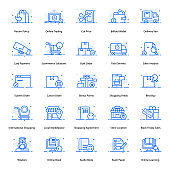 Pack Of Shopping Flat Icons