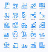 Shipping And Logistic Flat Icons