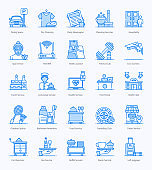 Hotel Services Flat Icons Pack