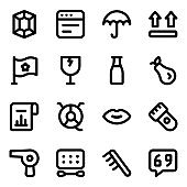Pack of Miscellaneous Solid Icons