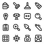 Pack of Entertainment Solid Icons
