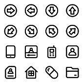 Pack of Arrows Solid Icons