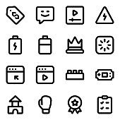 Pack of Technical Equipment Solid Icons
