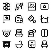 Pack of Office Solid Icons