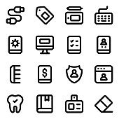 Pack of Hardware Solid Icons