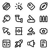 Pack of Trendy Solid Icons