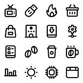 Pack of Ecommerce Solid Icons