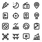 Pack of Party Solid Icons