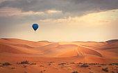 Balloon in the desert