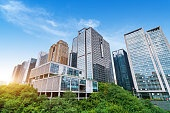 China Chongqing skyscrapers
