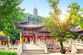 Temple and pagoda
