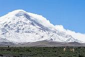 Chimborazo Volcano Ecuador, the closest point to the sun
