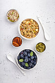 Healthy nutritious granola
