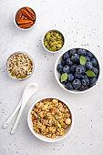 Healthy breakfast inredients