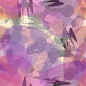 Camouflage Seamless Pattern. Modern Fashion
