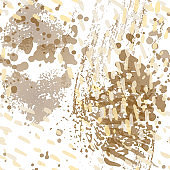 Stains Seamless Pattern. Fashion Concept.