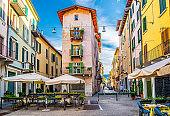 Brescia city historical centre