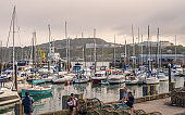 Marina at Scarborough in Yorkshire.