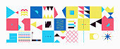 Technology Abstract Vector Pattern Design