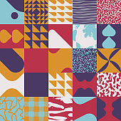Hand-Drawn Vector Abstract Pattern Design