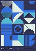Brutalism Design Vector Cover Mockup