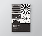 Modernism Design Vector Cover Mockup