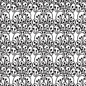 Seamless patterns with doodles textures, vector strokes
