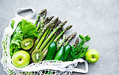 Healthy vegetarian food concept