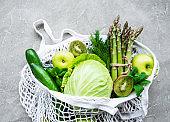 Healthy vegetarian food concept background