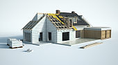Technical details of house construction