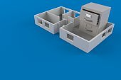 Archive inside house plan