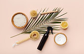 Bio natural cleaning tools and products, bamboo brushe