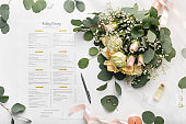 Bridal roses composition and important deals before wedding