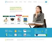 웹템플릿, 교육, 메인페이지, 학생, 학원