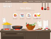 Cooking Web Templates