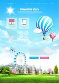 Amusement web templates