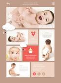 Infant web templates