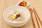 tteokguk, rice-cake soup