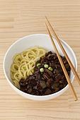 jajangmyeon, black-bean-sauce noodles
