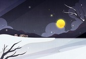 New Year Backgroung Illust