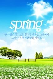 계절, 봄, 꽃, 자연
