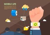 사물인터넷, 4차산업혁명, 스마트워치, 라이프스타일